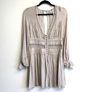 FREE PEOPLE Dress With Embroidery 6